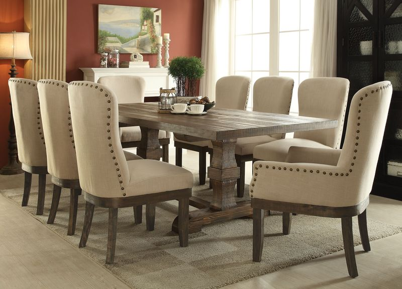 Dresden Formal Dining Room Set In Gold · Landon Dining Room Set