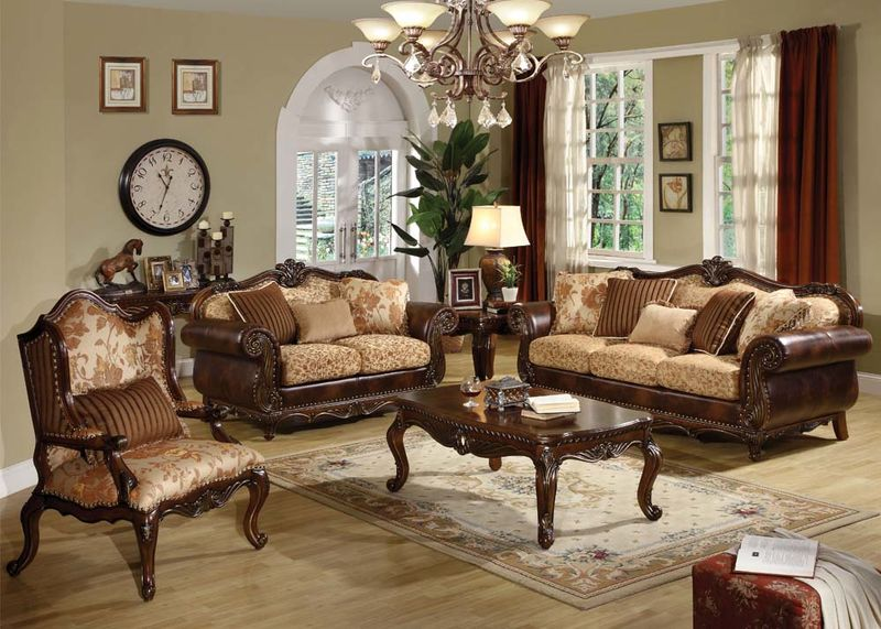 Remington Formal Living Room Set