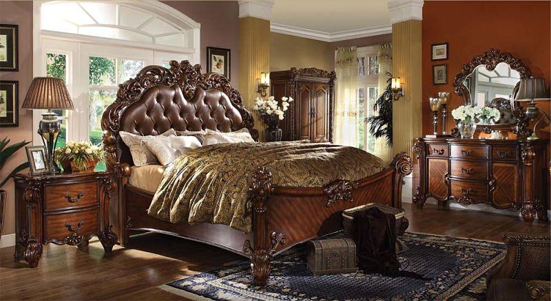 Vendome Bedroom Set in Cherry