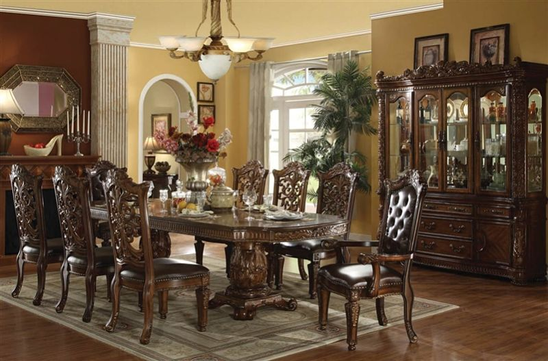 High end furniture furniture store online von furniture for Formal dining room furniture