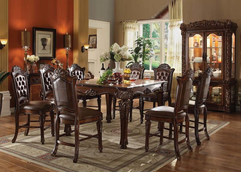 Antique Tuscan Formal Dining Room Tuscany Formal Dining Room Set In Antique White