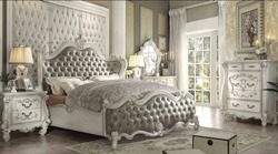 Versailles Bedroom Set in Vintage Gray