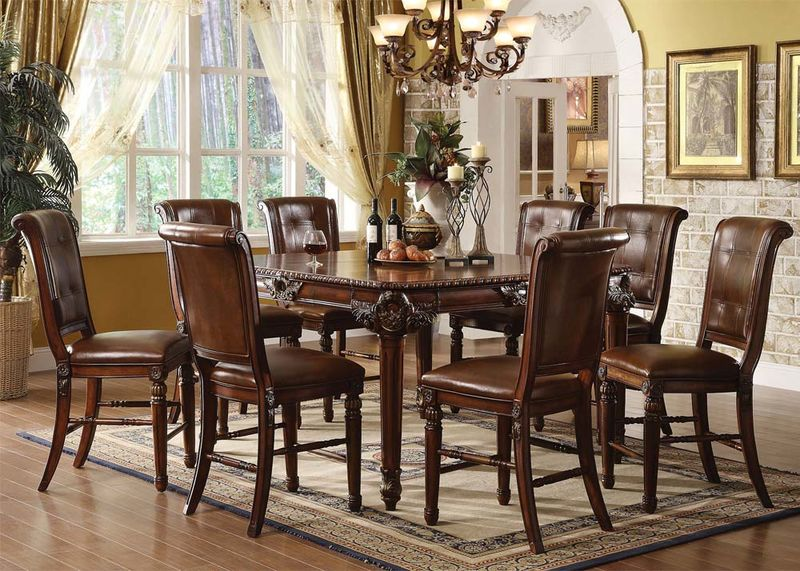 von furniture | tuscany formal dining room set in cherry