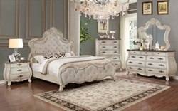Ashley Weathered White Bedroom Set