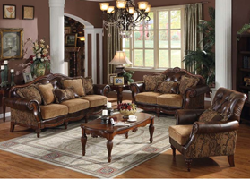 Como Formal Living Room Set