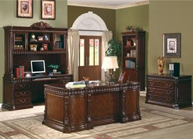 Dallas Computer Desk with Hutch