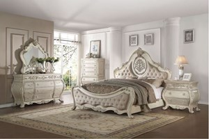 Derby Bedroom Set in Antique White