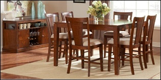 Eastland Pub Table Set with Server