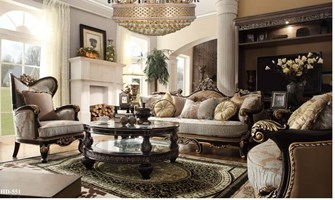 Edward Formal Living Room Set