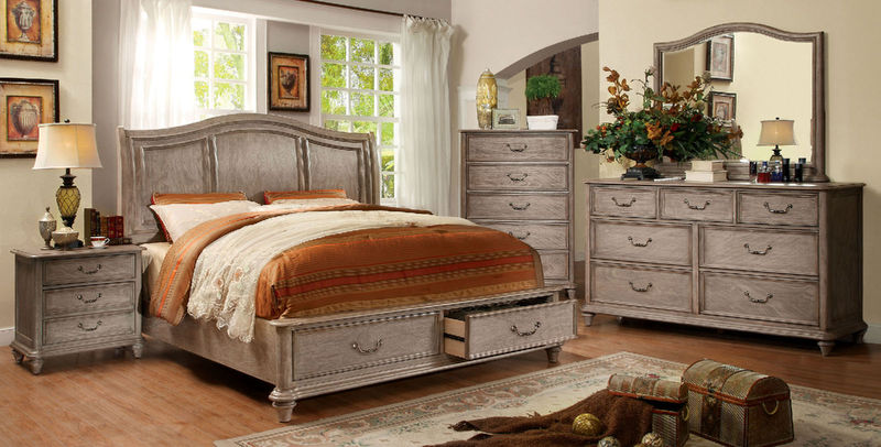 Belgrade I Storage Bedroom Set
