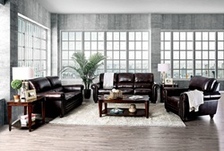 Edmont Leather Living Room Set
