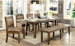 Colette Dining Room Set with Bench