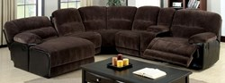 Glasgow Reclining Sectional in Microfiber