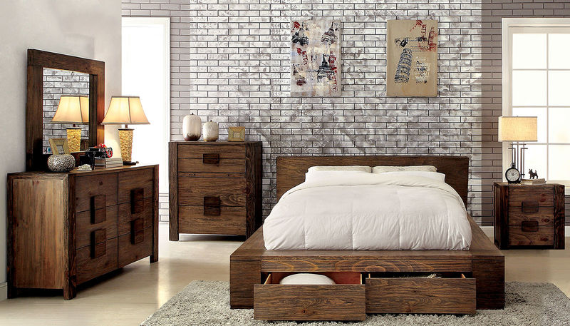 Janeiro Bedroom Set with Storage Bed