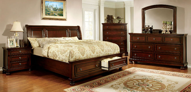Northville Bedroom Set with Storage Bed