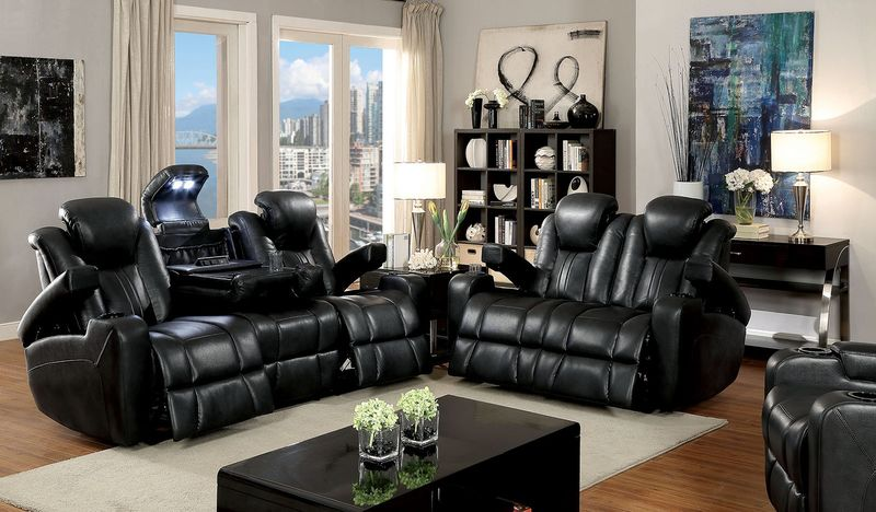Zaurak Reclining Living Room Set