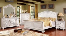 Isidora Bedroom Set in White