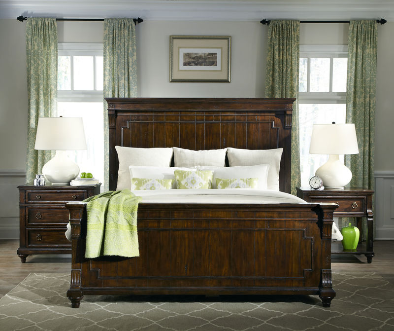 Charleston Place Bedroom Set with Panel Bed