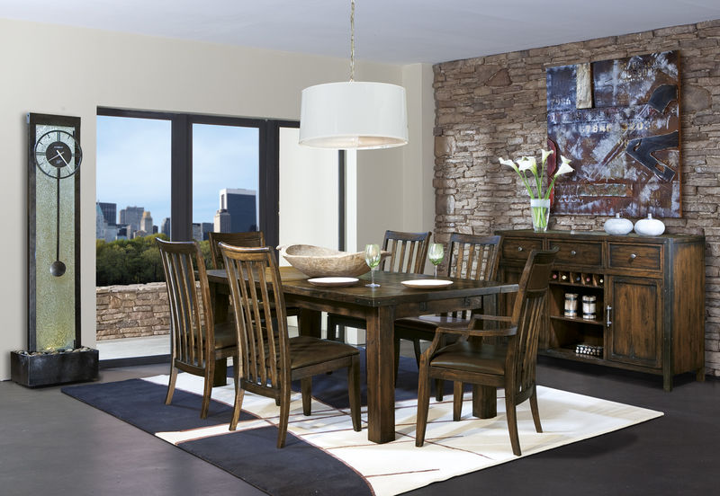 Harbor Springs Formal Dining Room Set with Rectangle Table