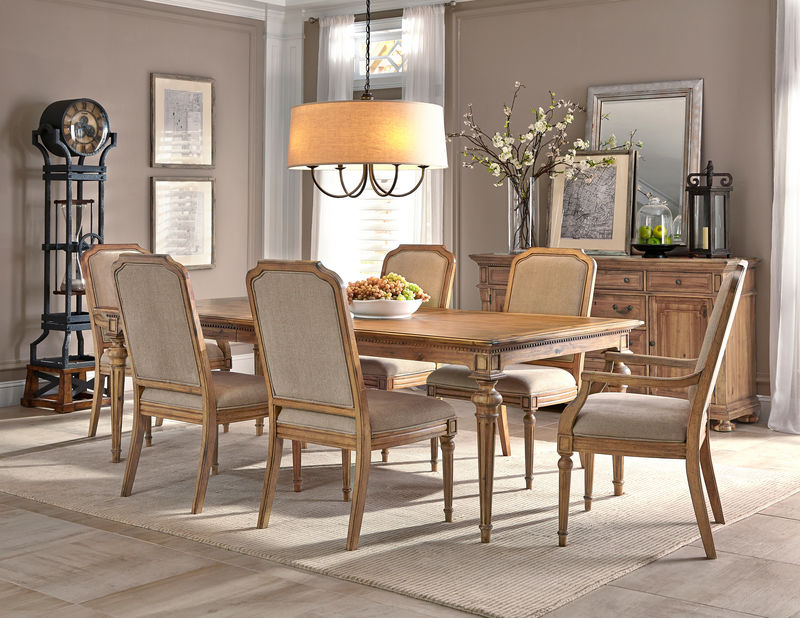 Wellington Hall Formal Dining Room Set with Rectangle Table