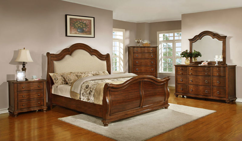 Davina Bedroom Set with Sleigh Bed
