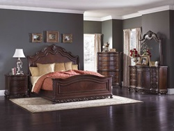 Deryn Park Bedroom Set with Sleigh Bed