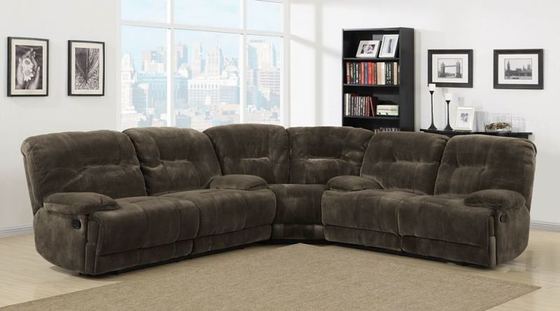 Geoffrey Reclining Sectional with Power Motion