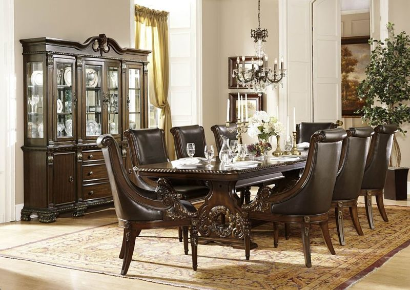 Von furniture le havre formal dining room set for Formal dining room furniture