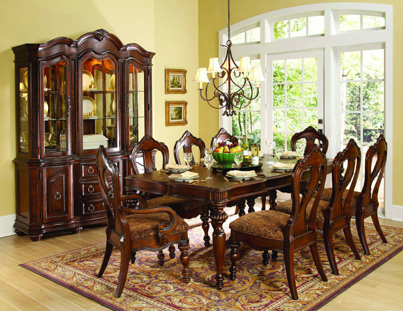 Von Furniture | Wyndmere Formal Dining Room Set in Cherry