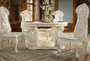 Lancaster Formal Dining Room Set with Round Table