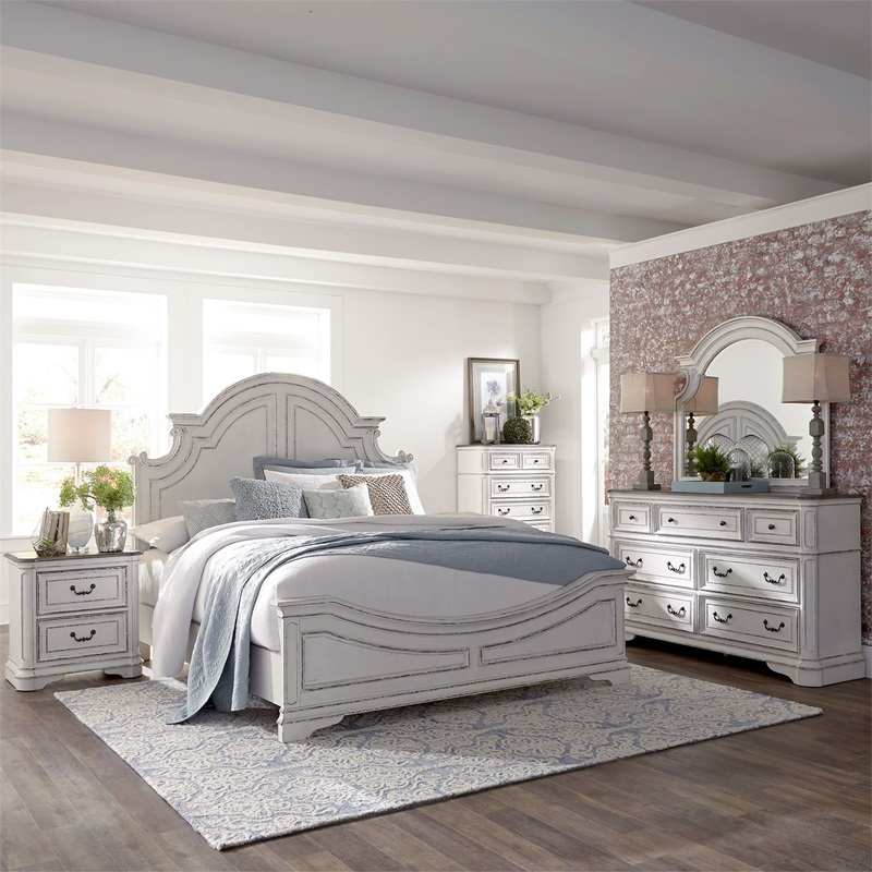 Magnolia Manor 4 Piece Queen Bedroom Set