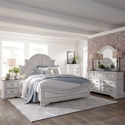Magnolia Manor 4 Piece Queen Bedroom Set