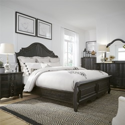 Chesapeake 4 Piece Queen Sleigh Bedroom Set
