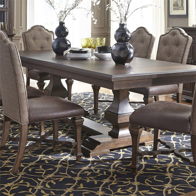 Lucca 7 Piece Formal Dining Room Set