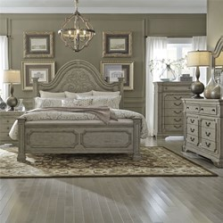 Grand Estates 4 Piece Queen Bedroom Set