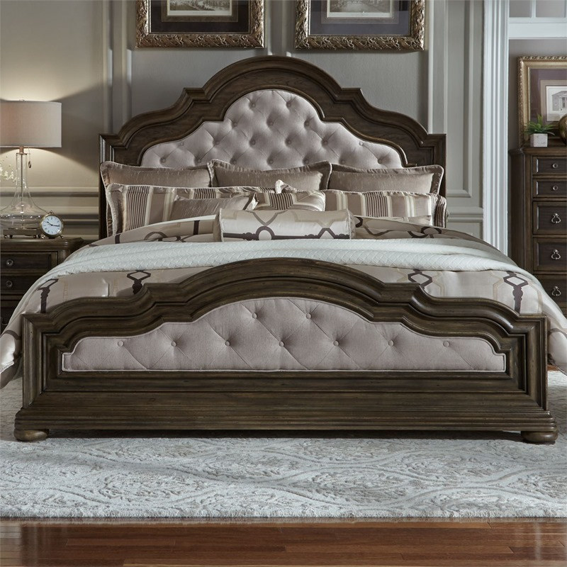 Valley Springs 4 Piece Queen Upholstered Bedroom Set