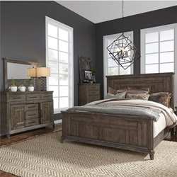 Artisan Prairie 4 Piece Queen Farmhouse Bedroom Set