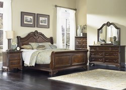 Highland Court 4 Piece Queen Bedroom Set