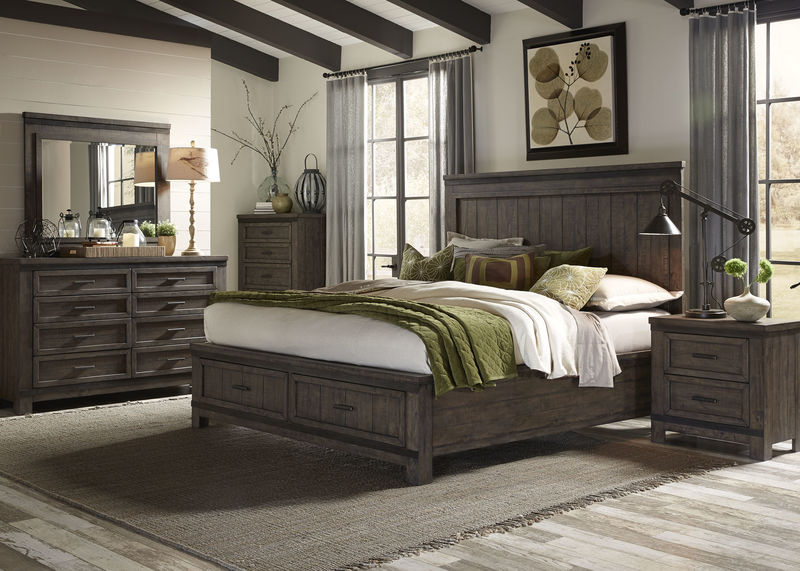 Thornwood Hills 4 Piece Queen Storage Bedroom Set
