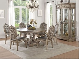 Lisburn Formal Dining Room Set with Round Table