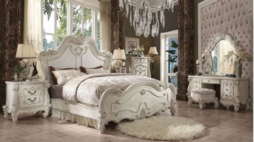 Lucca Bedroom Set in Bone White