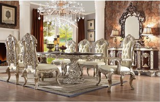 Massa Formal Dining Room Set with Rectangle Table