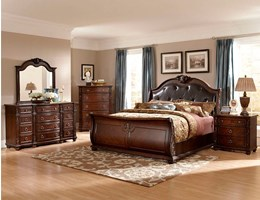 Monza Bedroom Set with Sleigh Bed