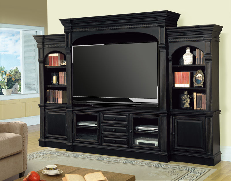 Venezia Entertainment Center with 77 Inch Console