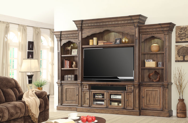Aria Large Entertainment Center with 67 Inch Console