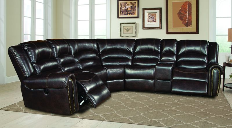Gershwin Reclining Sectional in Java