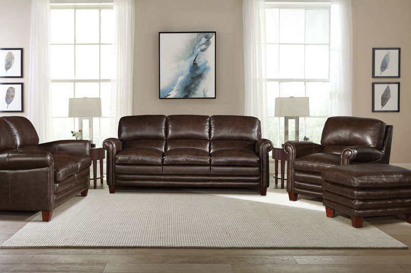 Kendall Leather Living Room Set
