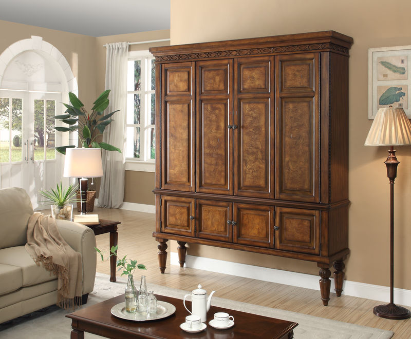 Leonardo Large Entertainment Armoire