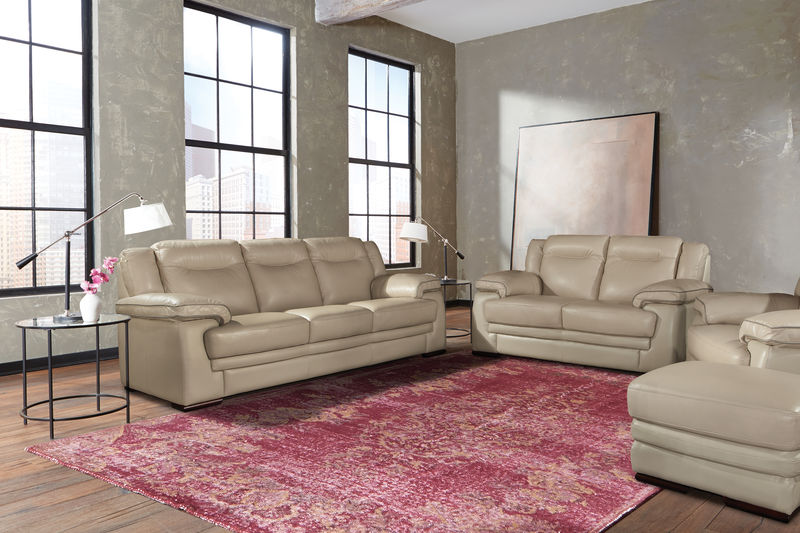 Monarch Leather Living Room Set