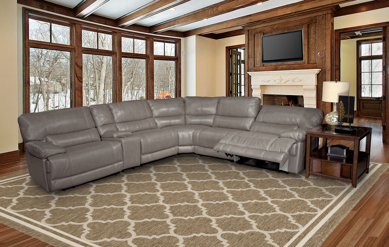 Pegasus Reclining Sectional in Sahara
